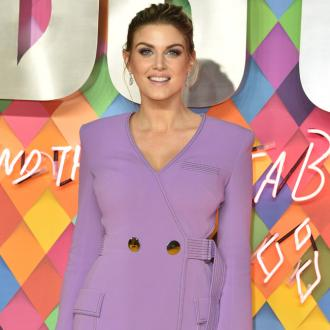 Ashley James insists her new romance 'doesn't feel fast'