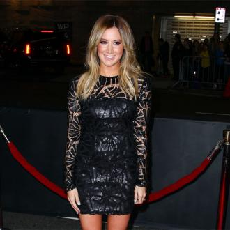 Ashley Tisdale celebrates bachelorette