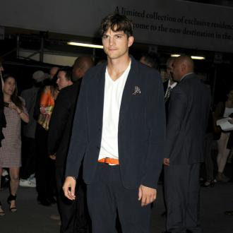 Ashton Kutcher Performs Dance At Wedding