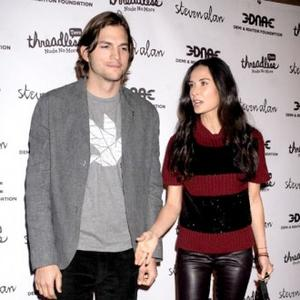 Ashton Kutcher Bought Demi Moore Lexus To Save Marriage?
