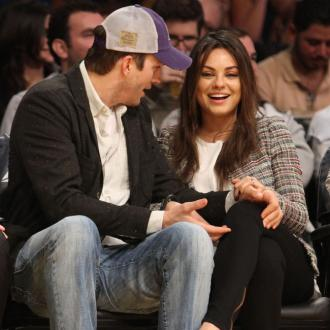 Ashton Kutcher Is Supporting Mila Kunis