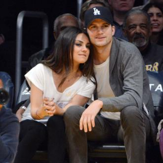 Ashton Kutcher and Mila Kunis' garden wedding