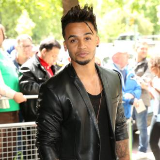Aston Merrygold's sleepy son