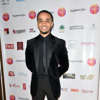 Aston Merrygold emotional over son's birth
