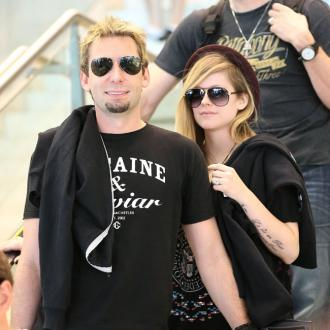 Avril Lavigne And Chad Kroeger Make Music