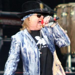 Axl Rose Tops Greatest Frontman Poll