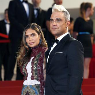 Robbie Williams' festive praise for wife
