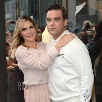 Formal Fridays: Robbie Williams and Ayda Field dress up once a week amid quarantine