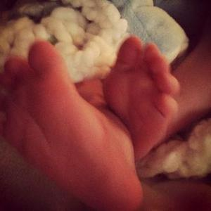 Hilary Duff Posts First Picture Of Son