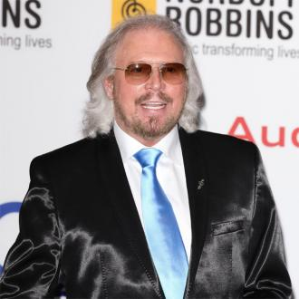 Barry Gibb discusses collaboration with Chris Martin