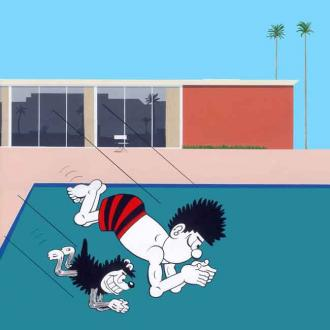 Horace Panter Gives Beano Characters Punk Pop-art Makeover