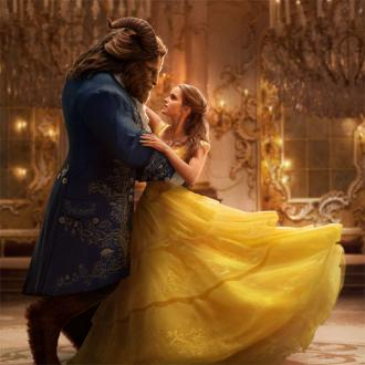 Beauty and the Beast shown with live orchestra