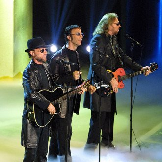 Barry Gibb gives update on Bee Gees biopic