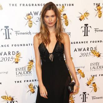 Behati Prinsloo is hands-on with makeup