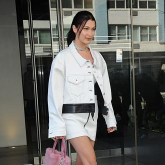 Bella Hadid works out 'hard for two hours'