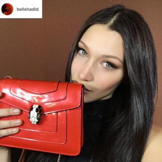 Bella Hadid is 'so excited' to be the face of Bulgari accessories