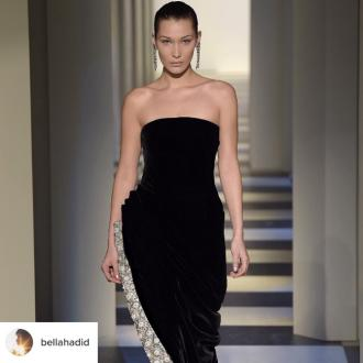 Bella Hadid's 'Highlight Of The Year' Is Closing The Oscar De La Renta Fashion Show