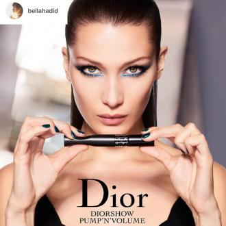 Bella Hadid is the new face of Dior Beauty's new campaign