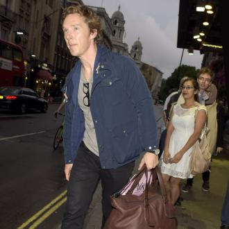 Benedict Cumberbatch Couldn't Sign Autographs After Hamlet