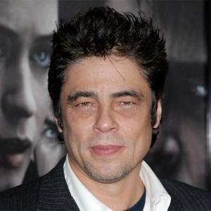 Benicio Del Toro Impressed By 'Sharp' Stone