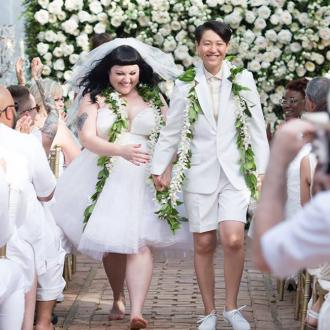 Beth Ditto Marries Girlfriend Kristin Ogata