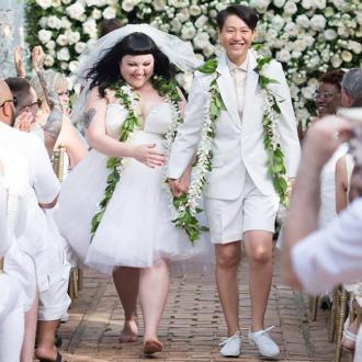 Beth Ditto marries Kristin Ogata