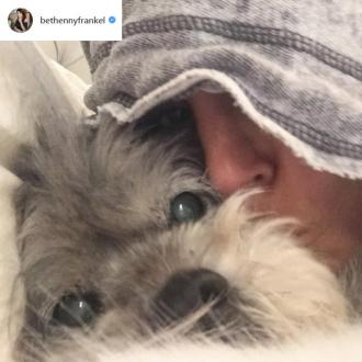 Bethenny Frankel's dog has died