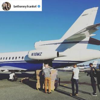 Bethenny Frankel Charters 3 Planes In Puerto Rico Relief Effort