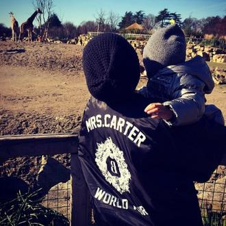 Beyoncé Spends Day At Dublin Zoo