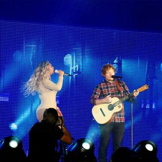 Beyoncé approached Ed Sheeran about collaboration after seeing him on YouTube