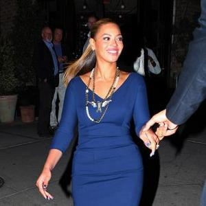 Beyonce Knowles Dines With Kim Kardashian