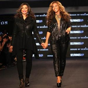 Beyonce Knowles' Model Compliments