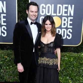 Bill Hader and Rachel Bilson make red carpet debut at Golden Globes
