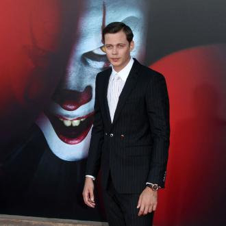 Bill Skarsgard Gives Pennywise Toys To Baby Daughter