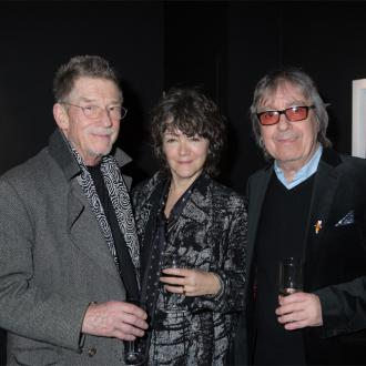 Bill Wyman unveils new art exhibition in London