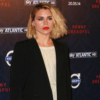 Billie Piper's boyfriend caught sniffing suspicious wrapper