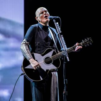 Billy Corgan is a fan of genre-busting pop stars Halsey and Lady Gaga