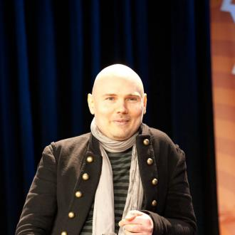 Billy Corgan Pals With Paris