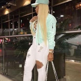 Blac Chyna's car crash