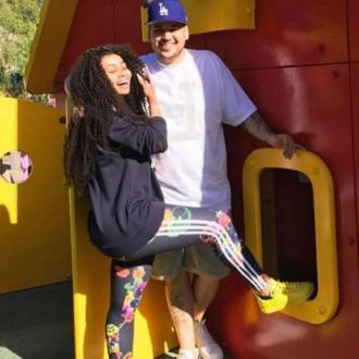 Blac Chyna Celebrates Rob Kardashian's Birthday