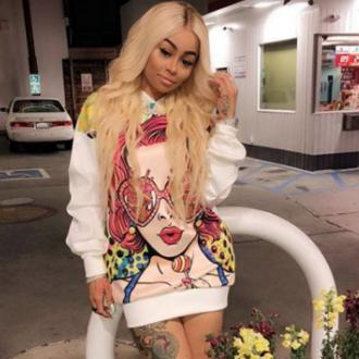 Blac Chyna's teen boyfriend proposes to her on social media