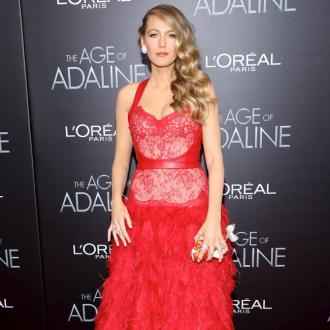 Blake Lively makes time for family
