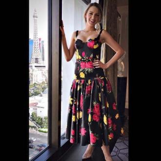 Blake Lively's designer wardrobe perks