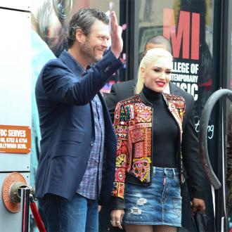 Gwen Stefani gave Blake Shelton 'handmade sign' for birthday