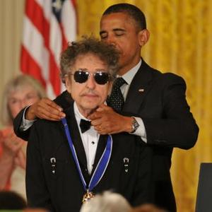 Bob Dylan Receives Presidential Honour