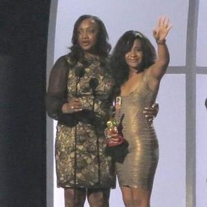Bobbi Kristina Brown Cries Over Whitney's Award
