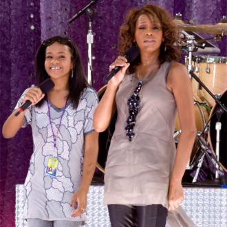 Bobbi Kristina Brown Pays Tribute To Whitney Houston