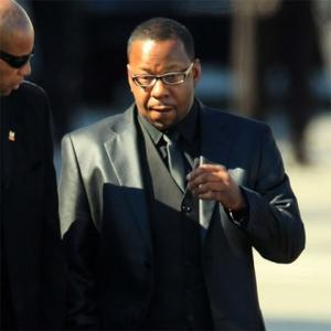 Bobby Brown Left Whitney's Funeral After Bust-up