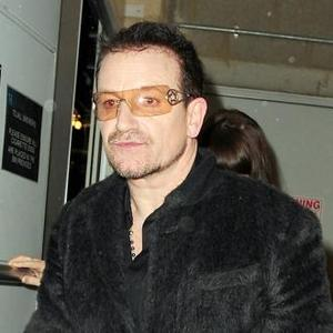 Bono Enjoys Chocolate Restaurant