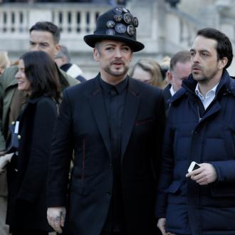 Boy George thinks he's turning into his dad